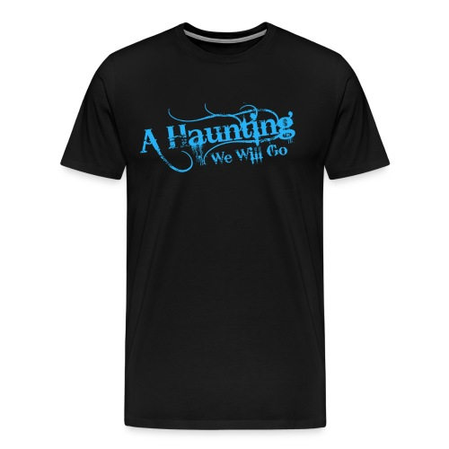AHWWG Blue Logo Front  - Men's Premium T-Shirt