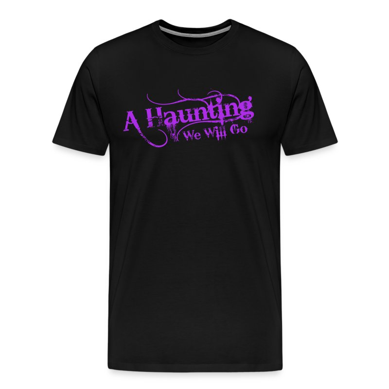 AHWWG Purple Logo Front  - Men's Premium T-Shirt