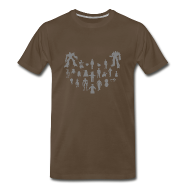 T-Shirts ~ Men's Premium T-Shirt ~ Bots - Various  | Robot Plunger