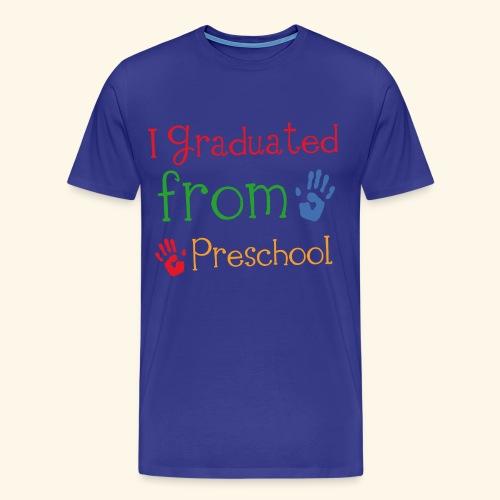 Preschool Graduation Kids T-shirt - Men's Premium T-Shirt