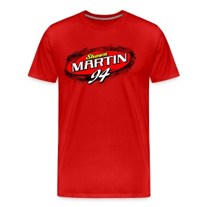Shawn Martin 3-4XL Shirt - Red - Men's Premium T-Shirt
