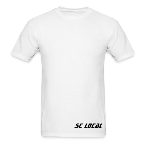 SC Local - Shirt Dropped Logo - Men's T-Shirt