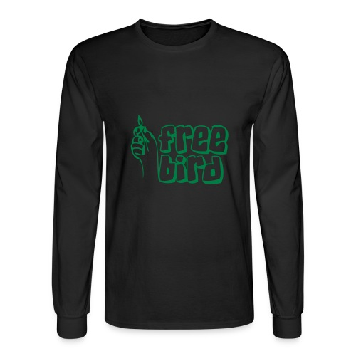 Free Bird - Men's Long Sleeve T-Shirt