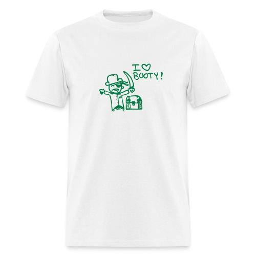 booty. - Men's T-Shirt