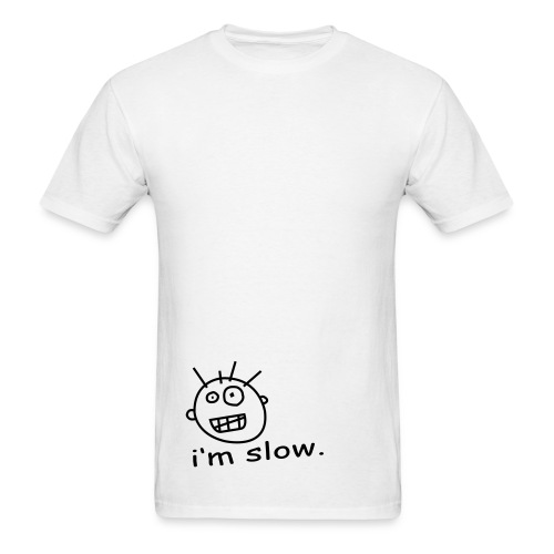 white. - Men's T-Shirt
