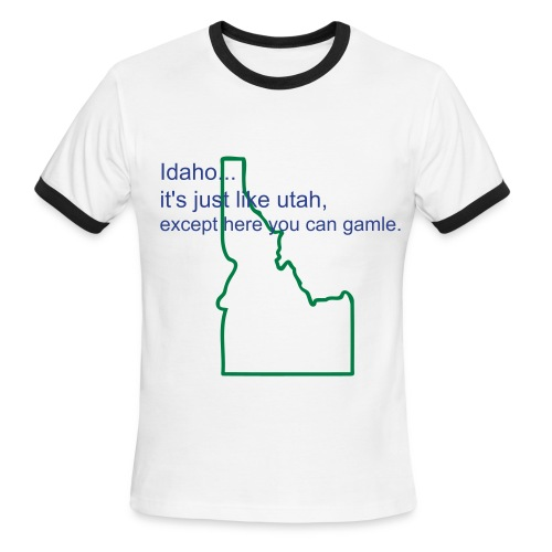 idaho. - Men's Ringer T-Shirt