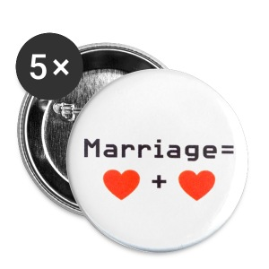 Marriage - Small Buttons