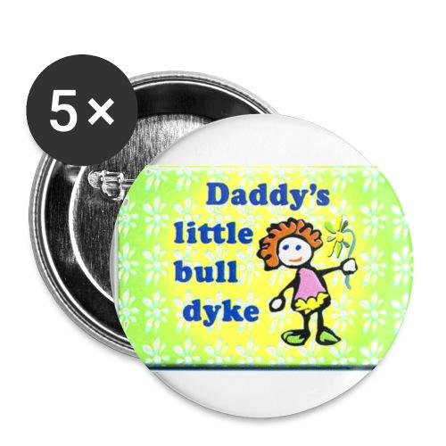 Little bull dyke - Small Buttons