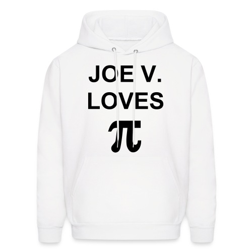 Joe V loves Pie - Men's Hoodie
