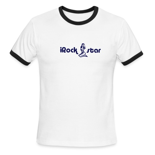 iRock Star - Men's Ringer T-Shirt