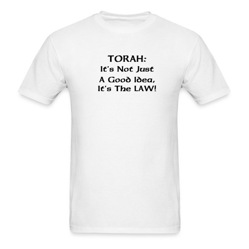 Torah: It's the Law! - Men's T-Shirt