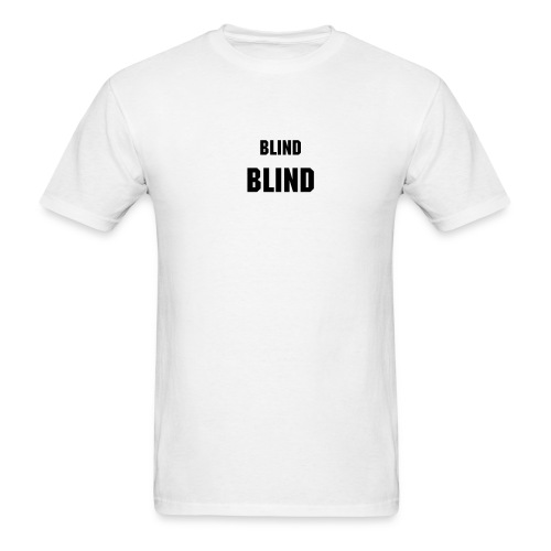 Small Blind, Big Blind - Men's T-Shirt