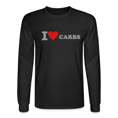 I love carbs - Men's Long Sleeve T-Shirt