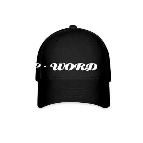 P-Word hat - Baseball Cap