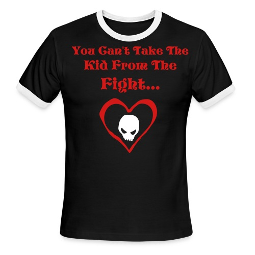 Cant Take The Fight! - Men's Ringer T-Shirt