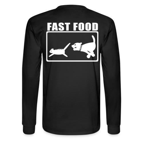 Fast food - Men's Long Sleeve T-Shirt