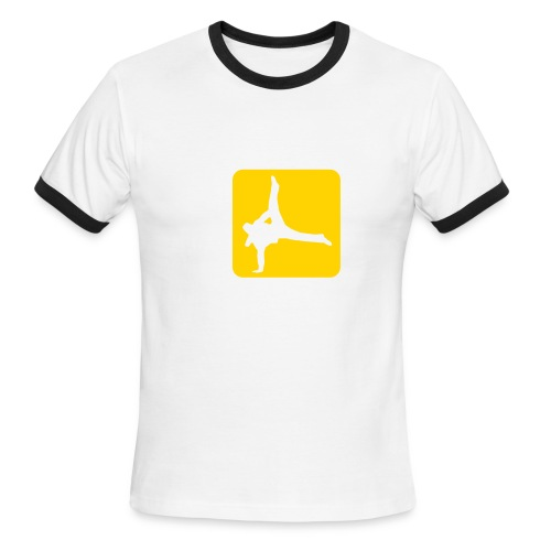 Breakdance (M) - Men's Ringer T-Shirt
