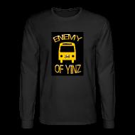 Long Sleeve Shirts ~ Men's Long Sleeve T-Shirt ~ Bus logo , Roadkill on back