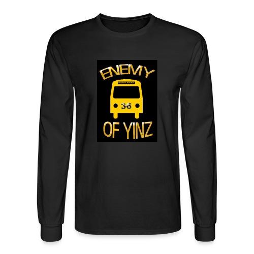 Bus logo , Roadkill on back - Men's Long Sleeve T-Shirt
