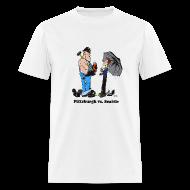 T-Shirts ~ Men's T-Shirt ~ Pittsburgh Vs Seattle T-Shirt