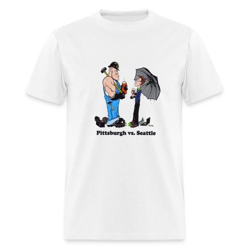 Pittsburgh Vs Seattle T-Shirt - Men's T-Shirt