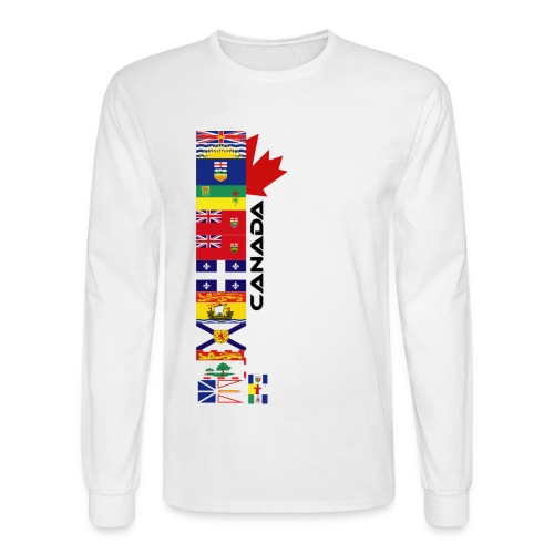 Provincial Flags - Men's Long Sleeve T-Shirt