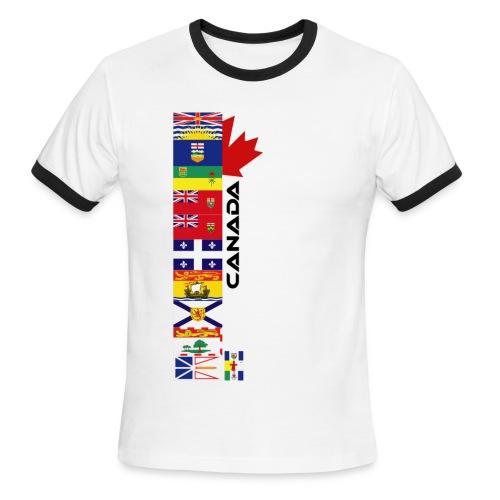 Provincial Flags - Men's Ringer T-Shirt