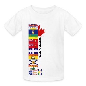 Provincial Flags - Kids' T-Shirt