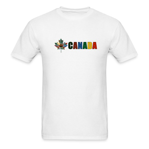 Canada Tartan - Men's T-Shirt