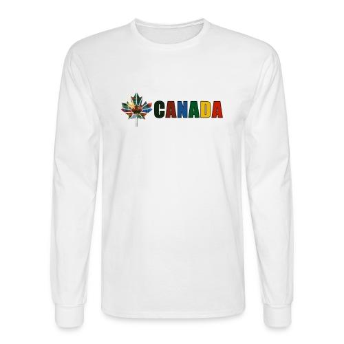 Canada Tartan - Men's Long Sleeve T-Shirt