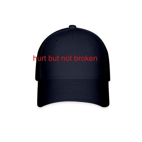 fitted navy hat - Baseball Cap