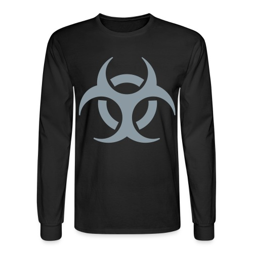 Biohazard Shirt - Men's Long Sleeve T-Shirt