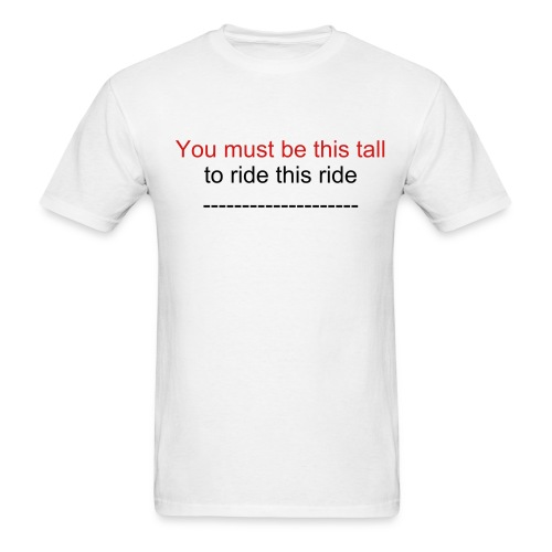 this tall - Men's T-Shirt