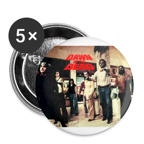 Dawn of the Dead Button Set - Small Buttons