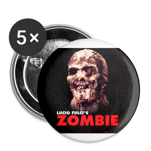 Lucio Fulci's Zombie Button Set - Small Buttons
