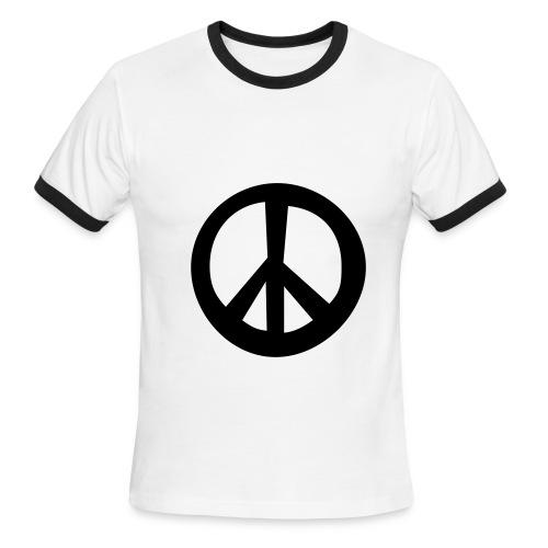 make love not war - Men's Ringer T-Shirt