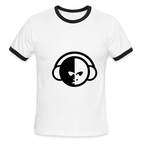 Music T-shirt with logo - Men's Ringer T-Shirt