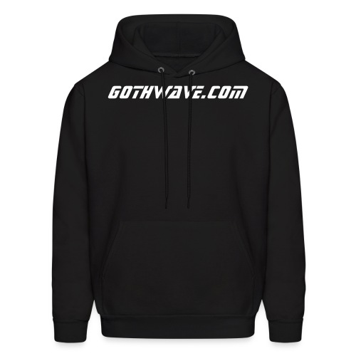 GothWave Hooded Fleece - Men's Hoodie