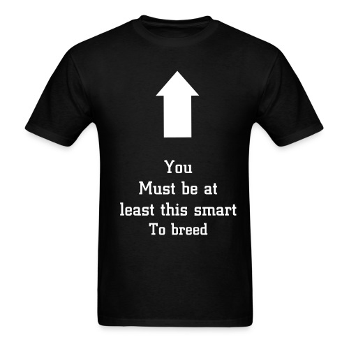 This smart to breed. - Men's T-Shirt