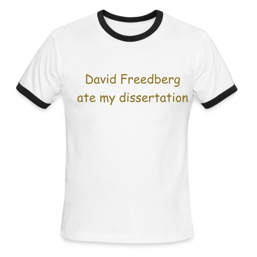 Freedberg - Men's Ringer T-Shirt
