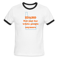 T-Shirts ~ Men's Ringer T-Shirt ~ IDAHO: It's not just for white people anymore