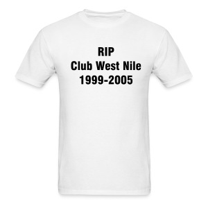 Club West Nile-White - Men's T-Shirt