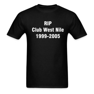 Club West Nile-Black - Men's T-Shirt