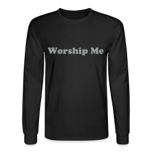 Worship me(men's) - Men's Long Sleeve T-Shirt