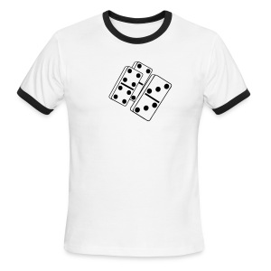 Dominoes - Men's Ringer T-Shirt