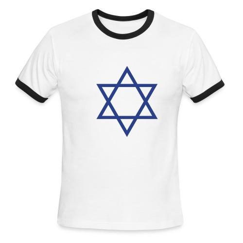 Star of David - Men's Ringer T-Shirt