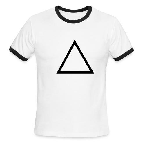 Triangle - Men's Ringer T-Shirt