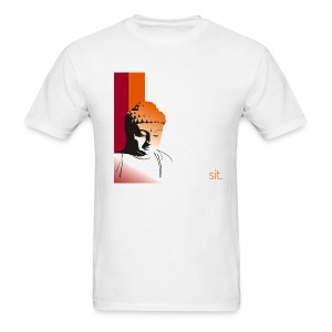 Buddha - Sit. - Men's T-Shirt