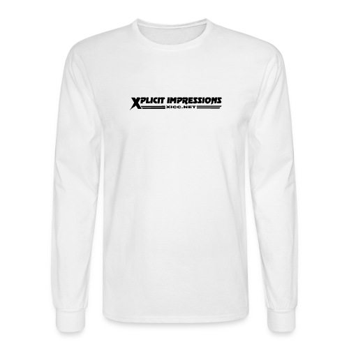 Member Long Sleeve (white) - Men's Long Sleeve T-Shirt