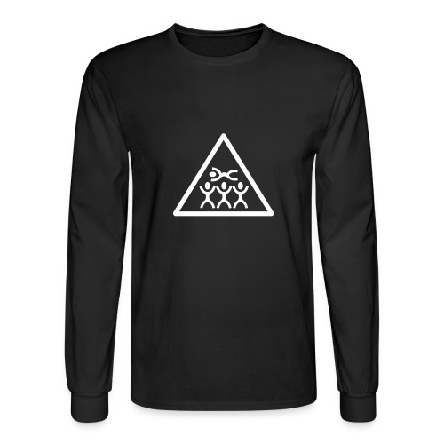Crowd Surfer - Men's Long Sleeve T-Shirt
